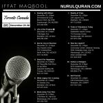 Iffat-Mabool-NurulQuran-Toronto-Trip-December-2015